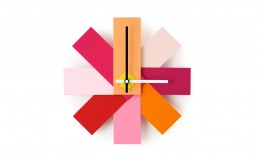 Watch Me Wall Clock Pink