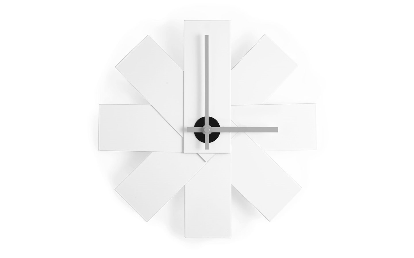 Watch Me Wall Clock White