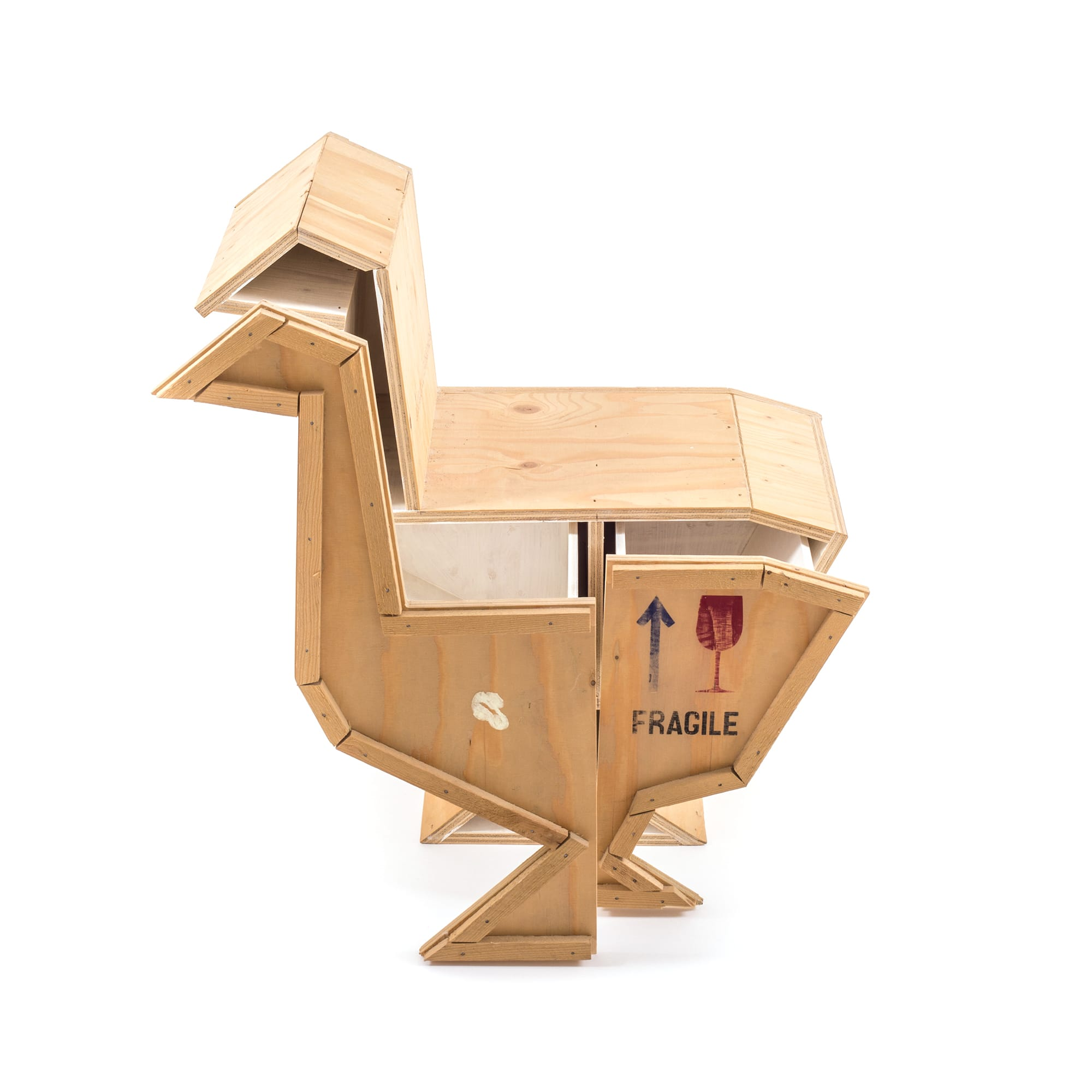 Wooden Furniture Seletti Goose Open Racurs