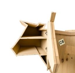 Wooden Furniture Seletti Sending Cow Open Detail