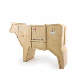 Wooden Furniture Seletti Sending Cow Racurs
