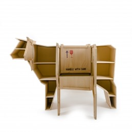 Wooden Furniture Seletti Sending Cow open