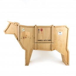 Wooden Furniture Seletti Sending Cow