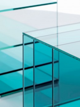 glass coffee table deep sea glas italia 3