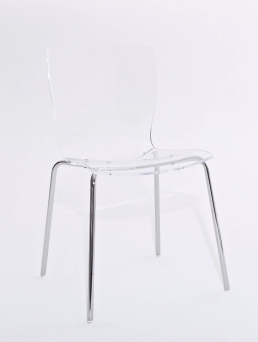 hip chair transparent front