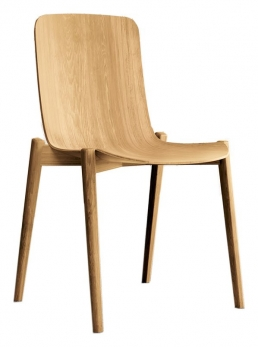 Colico Dandy Oak wood chair