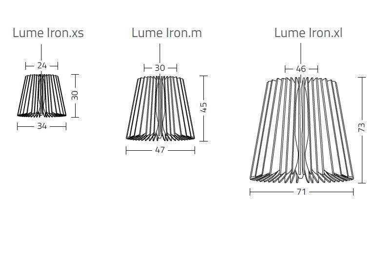 Lume Iron data sheet