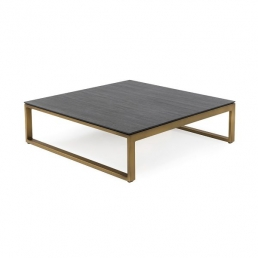 Braid coffee Table Gold