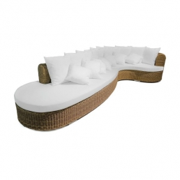 braid cloe circular sofa